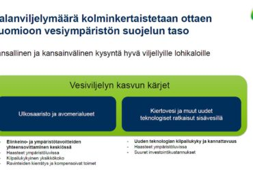 Kotimaisen kalan edistämisohjelma – tavoitteena kolminkertaistaa kalanviljelymäärä.