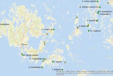 Ahvenanmaan kalankasvatuslaitosten velvoitetarkkailuaineiston hyödyntäminen sijainninohjauksessa ja vaikutusarvioinneissa